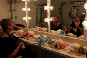 Concert May 2016 Dressing Room Easter Bonnets
